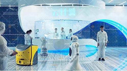 """新松坚持创新  力求演好人工智能这出时代大戏的""""..."""
