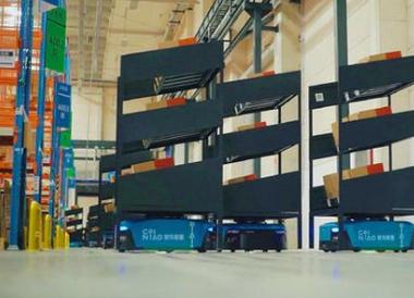 菜鸟网络IoT未来园区投入近700台机器人