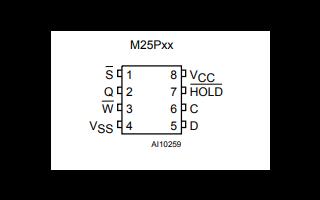 M25PXX系列SPI总线接口串行闪存存储器数据手册免费下载