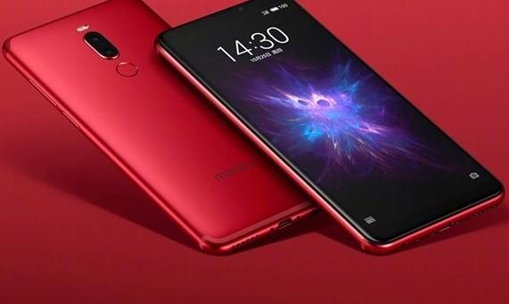魅族Note 8焰红版已发布全金属机身流线设计有...