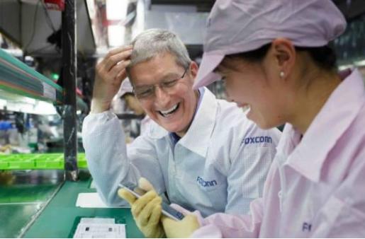由于新手机的销售低迷 苹果削减了10%的富士康账...