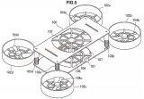 索尼发布首款无人机新专利