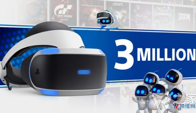 索尼PS VR销量达300万套  两款VR游戏即...