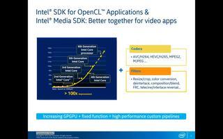 使用英特尔的Media和OpenCL SDK增强...