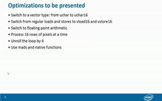 优化简单的OpenCL内核:调整内核优化
