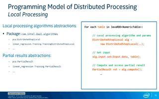使用英特尔数据分析加速库在Spark 集群上构建...