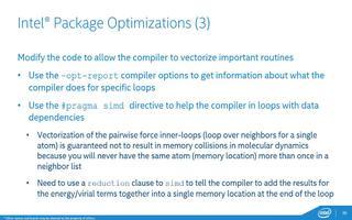 利用英特尔至强融核协处理器对LAMMPS进行优化