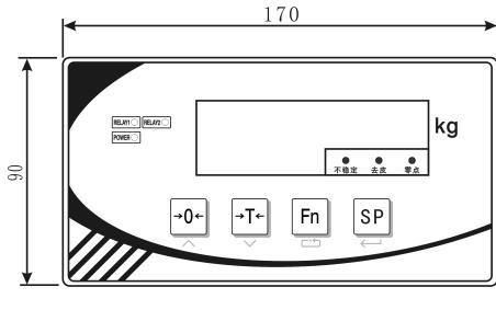 SD8806P电子称重仪表的数据和使用手册免费下载