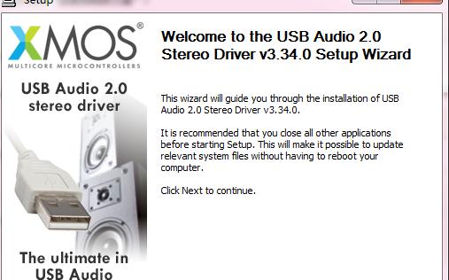 XMOS USB声卡驱动V3.340的应用程序免费下载