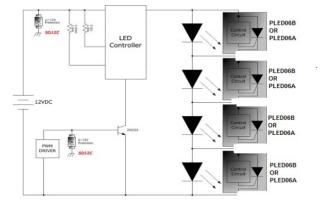 LED汽车照明灯的介绍和如何解决汽车灯雷电干扰问题