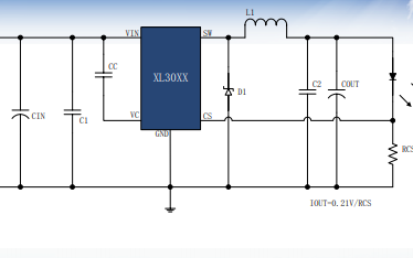 XL30XX系列降压恒流产品设计指南