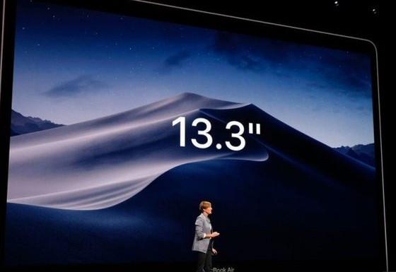 新MacBook Air正式发布边框收窄了50%屏幕像素提升了4倍