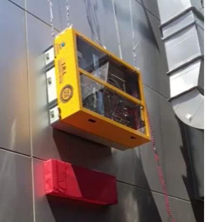 RF除了玻璃窗清洁机器人外 还在开发大型玻璃建筑清洁机器人