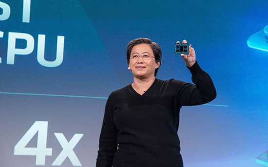 AMD公司7纳米GPU年底出货,Epyc CPU明年量产