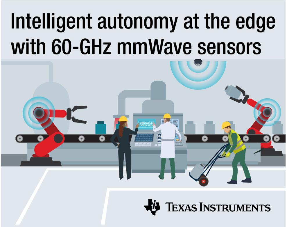 TI最新的60-GHz毫米波传感器 解决工业自动化毫米波技术应用