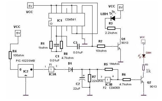 使用单片机制作红外壁障传感器和红外发射管及红外发射和接收电路