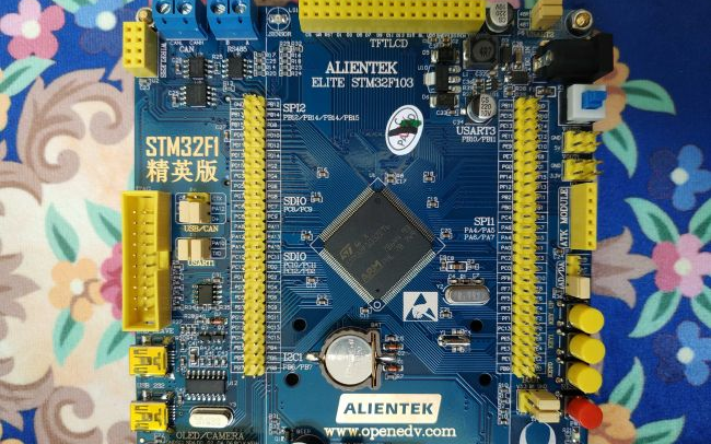STM32F103试用体验:LCD显示与DHT1...