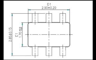 TTP233D-HA6单按键触摸检测芯片的数据手册免费下载