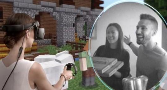 微软引入了名为Flashlight的全新功能可通过VR头显观察现实世界