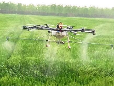 """植保无人机推动农业""""智能化"""""""
