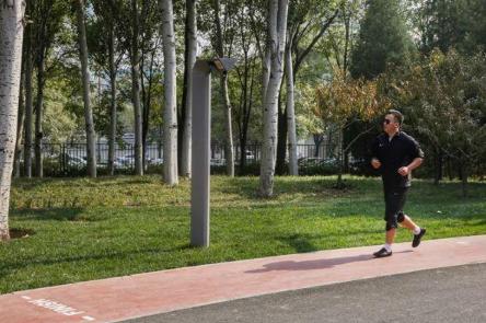 百度与北京海淀公园联合建造的全球首个AI公园正式...