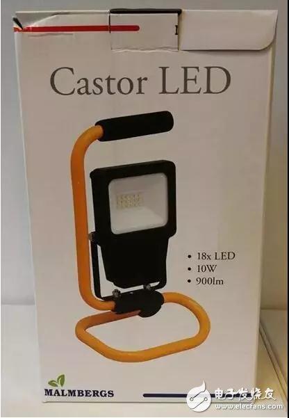 一款中国产的LED灯被欧盟召回 被指不符合低电压指令