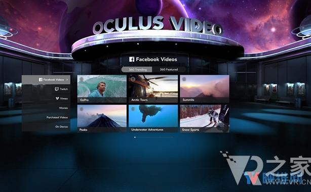 Oculus关闭Rift上的影视服务 三星Gea...