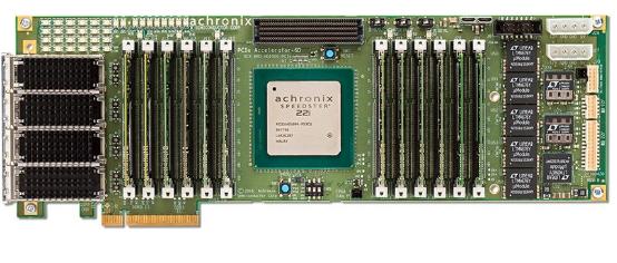 Achronix的的全新Accelerator-6D加速板带有业内最高的FPGA