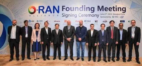 O-RAN联盟正式成立旨在将下一代无线通信网络的...