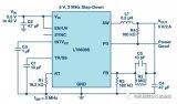 LT8609、LT8609A和LT8609S具有2.5 μA的超低静态电流