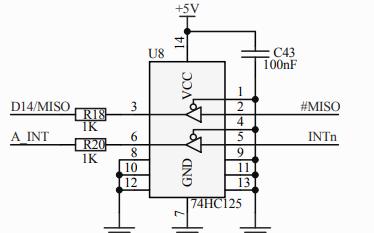 W5500以太网主控器原理图详细资料免费下载