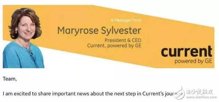 GE宣布将Current出售给私募股权公司