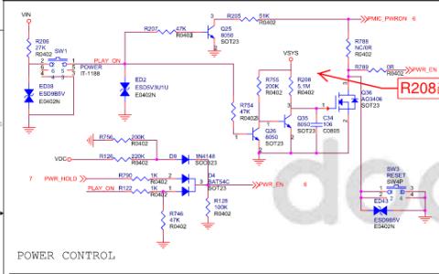 瑞芯微平板电脑电路原理图资料免费下载