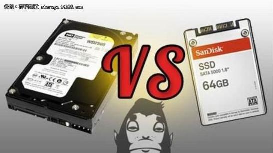 机械硬盘持续大幅滑坡 SSD内存和NAND闪存的...