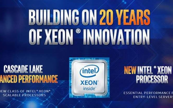 Intel 以高达 48 核心的Cascade Lake advanced performance 回应AMD Epyc