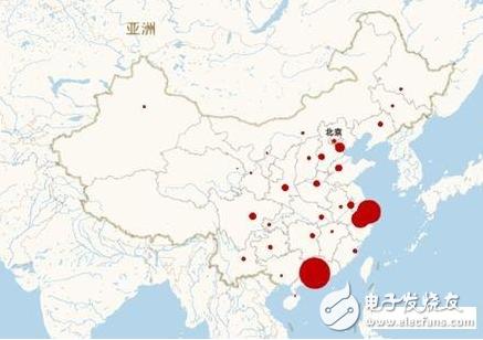 以上海,深圳,广州,杭州等限购城市,还有其他的沿海城市.