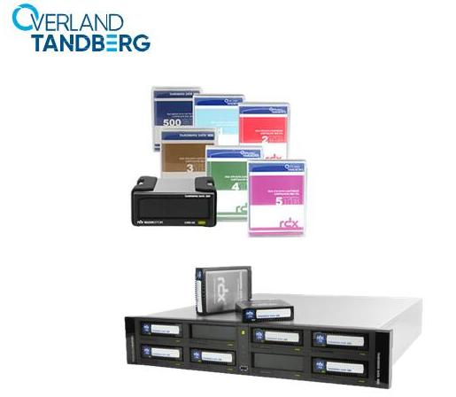 RDX 5TB可移动磁盘介质最大存储量增加了25%