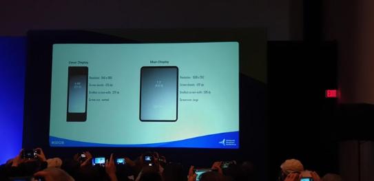 三星发布旗下首款可折叠屏智能手机 可以折叠起来放...