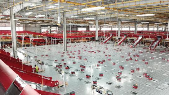 京东全国规模最大的机器人仓群投入使用 不同层级无人仓数量达到50个