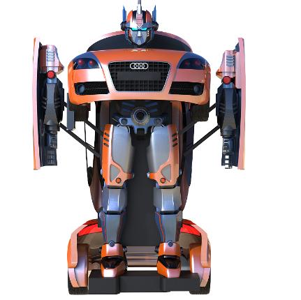 变形机器人走进现实 商业化落地引人关注