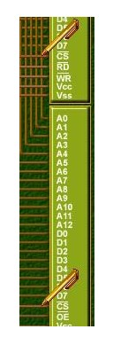 如何利用51单片机同时扩展RAM和ROM