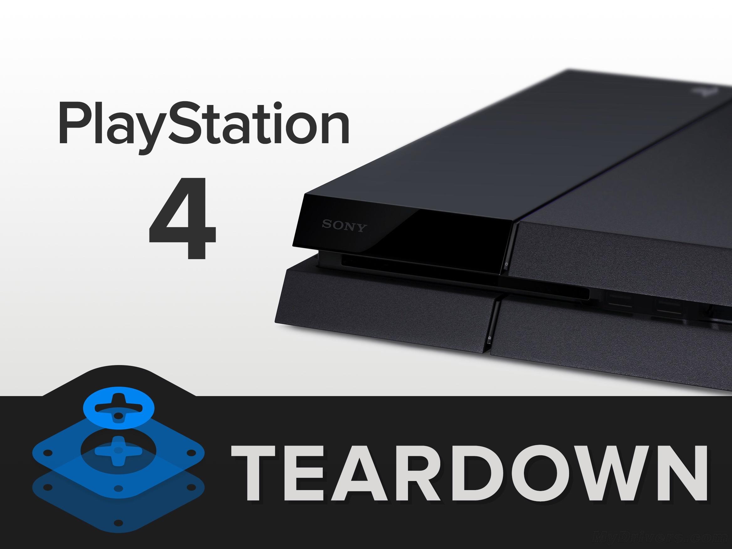 PS4拆解 做工及用料如何
