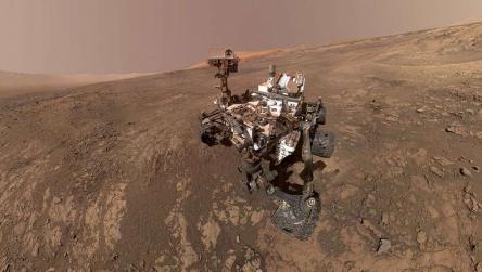 英国计划建造一种机器人漫游车 用来寻找火星上的生命