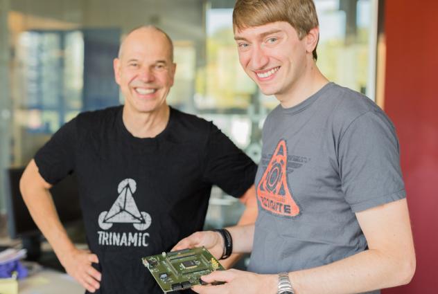 TRINAMIC推出全球首款嵌入式RISC-V内核的单片电机驱动电路