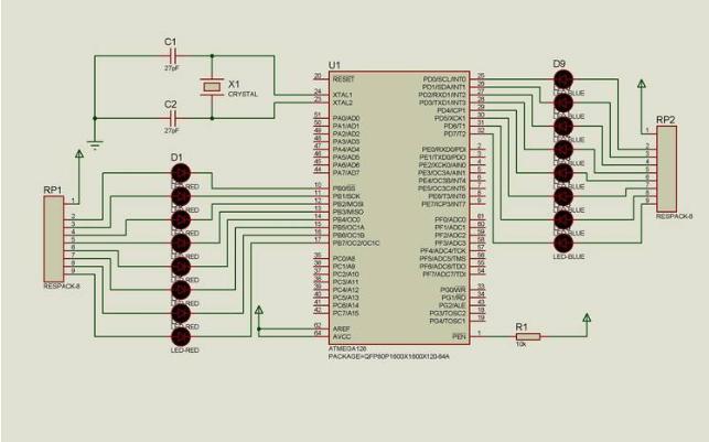 AVR单片机位操作及上拉应用的代码详细资料免费下载
