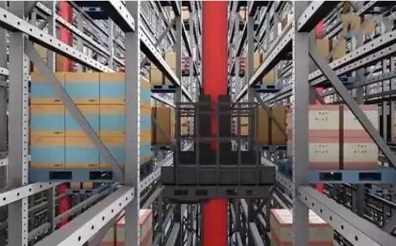 机器人融入正是京东无人仓的重要特色之一