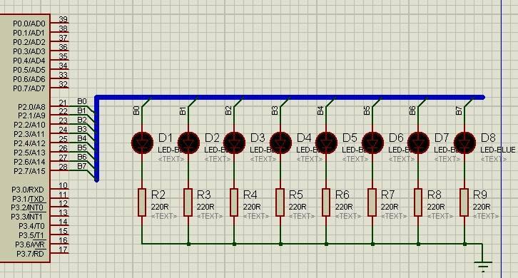 基于LM3S1138对跑马灯的控制设计