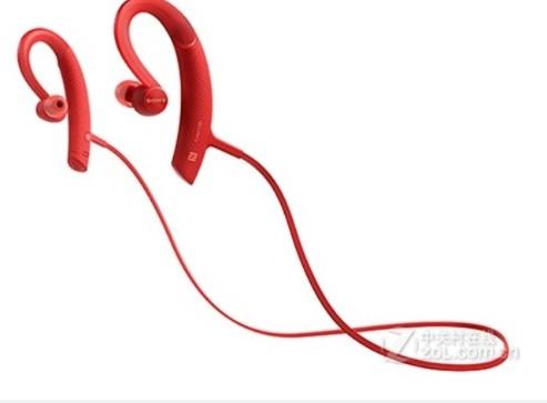 索尼MDR-XB80BS耳挂式运动耳机采用了4.1锂电池能支持约7小时的通话
