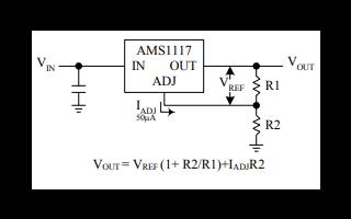 AMS1117低压差稳压器的数据手册免费下载