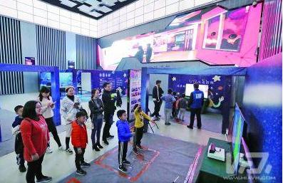 开设VR技术临时展览 宜兴科技馆成为宜兴科普教育的重要阵地